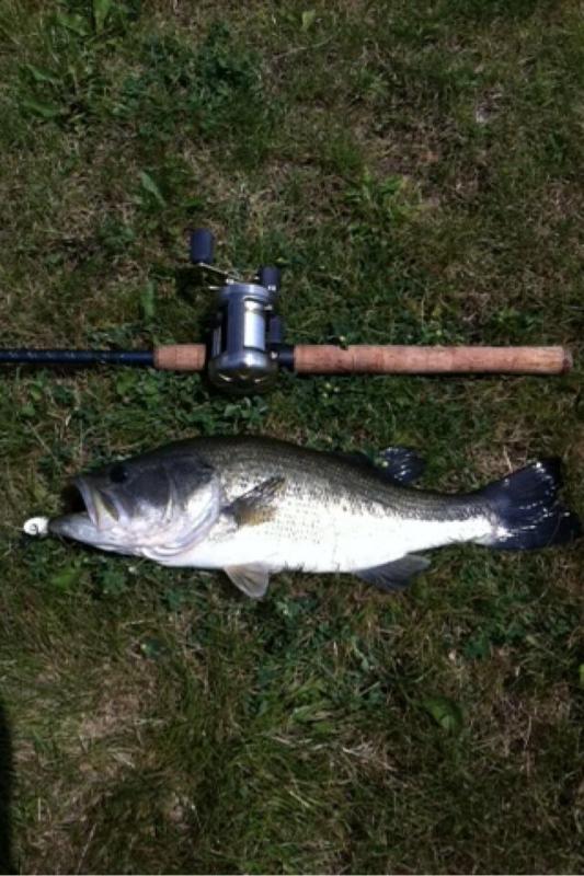 A photo of Corbin Binkley's catch