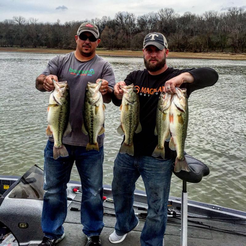 A photo of Luke Parker's catch