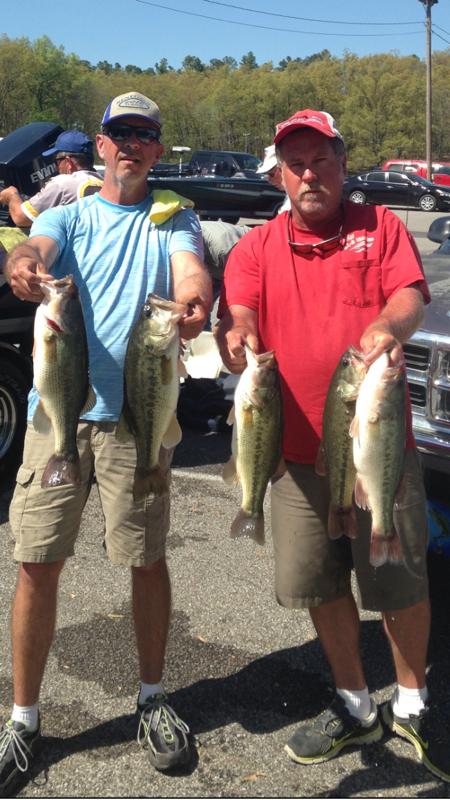 A photo of Chris Spradlin 's catch