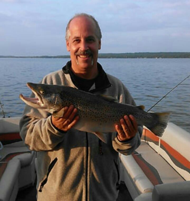 A photo of Michael Fiorentino's catch