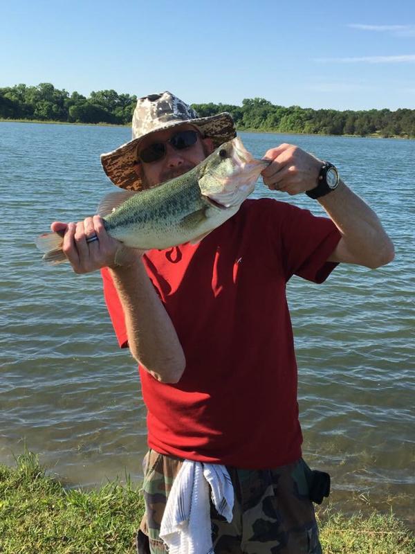 A photo of Andrew Ingram's catch