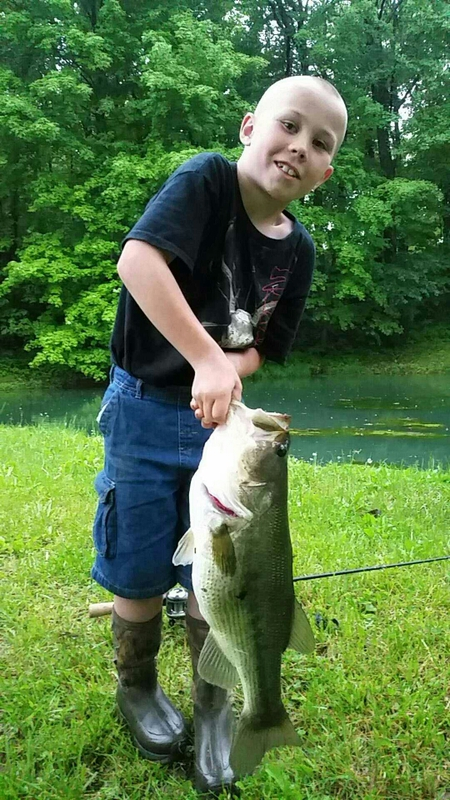 A photo of Aaron Childers's catch
