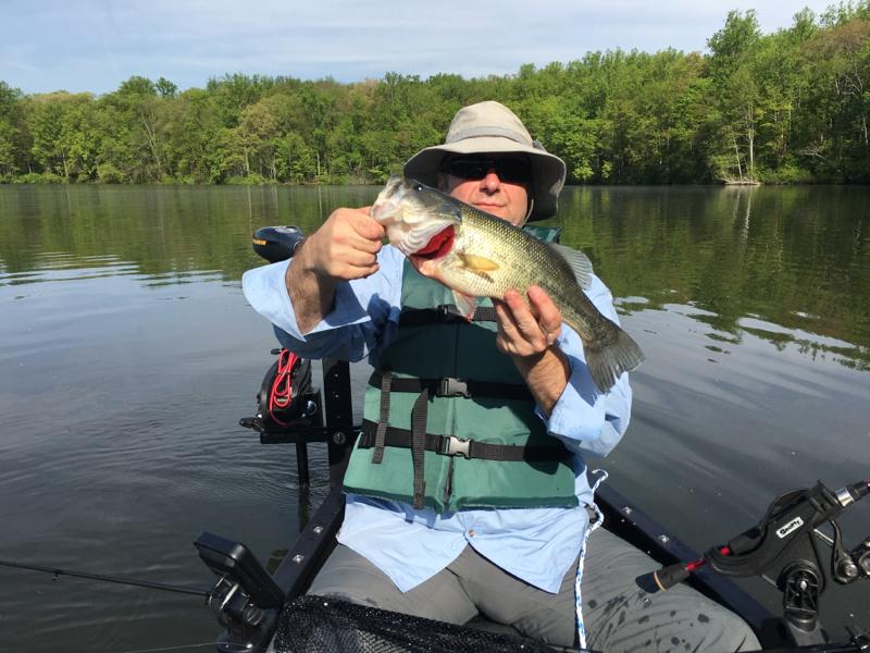 A photo of Doug Engle's catch