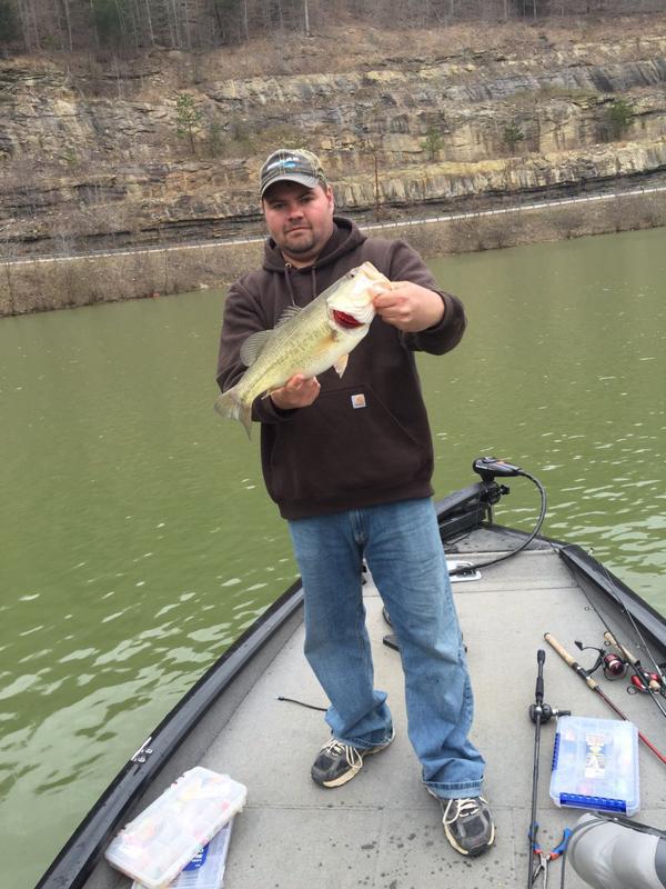 A photo of Adam Slone's catch