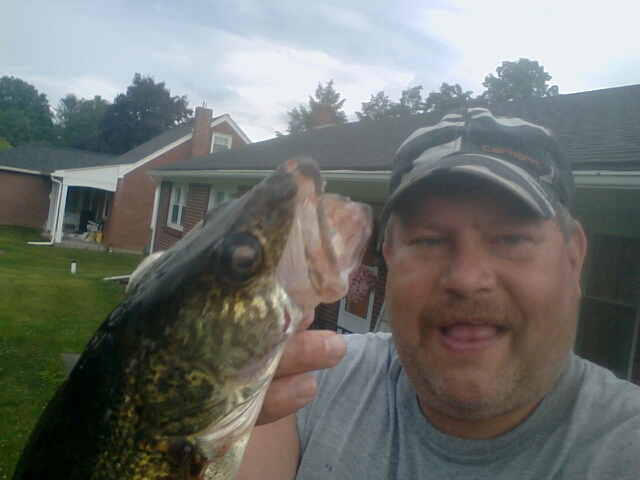 A photo of Michael Coldren's catch