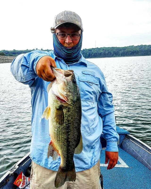 A photo of Zach Wieller's catch