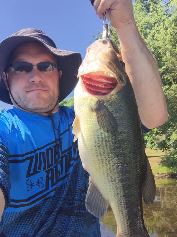 A photo of Thomas Labrecque's catch