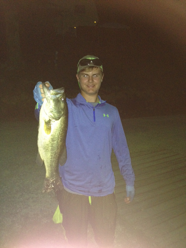 A photo of Jake Beihoffer's catch