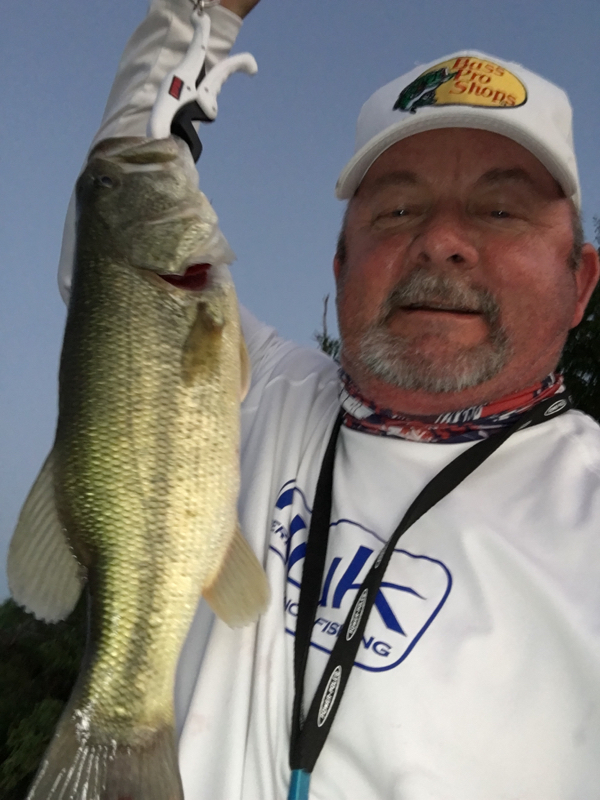 A photo of Jeff Partridge Anglers Ledge Guide Fishing's catch