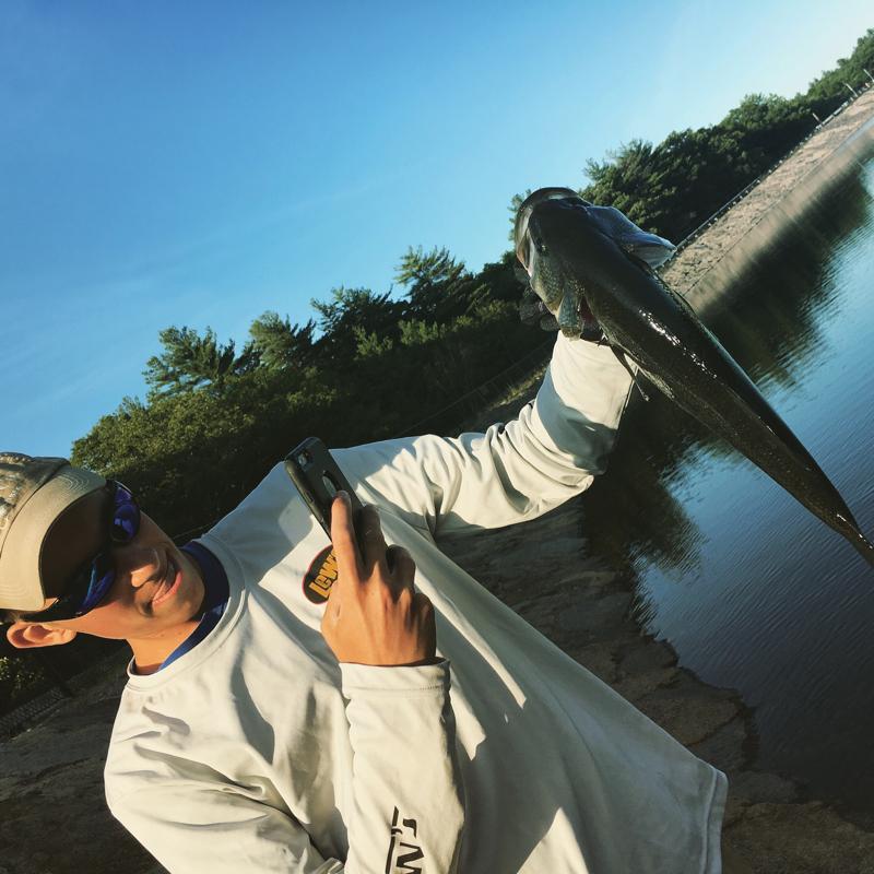 A photo of Sean McGurn's catch
