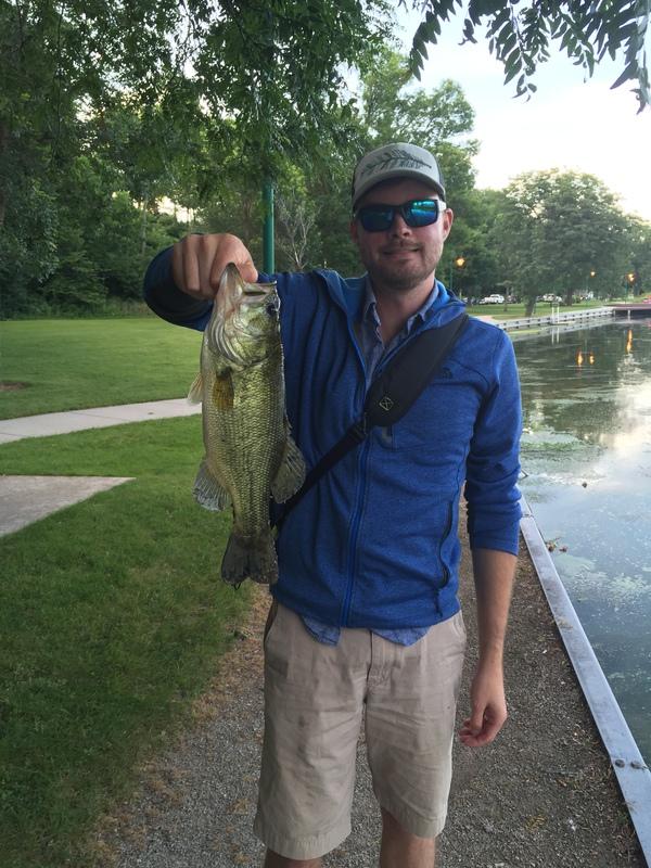 A photo of Drew Gierach's catch