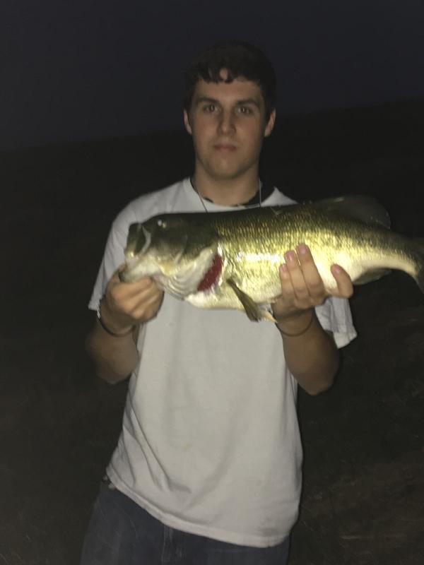 A photo of Cody Crump's catch