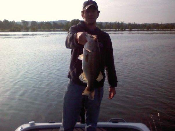 A photo of Joshua Haskins's catch