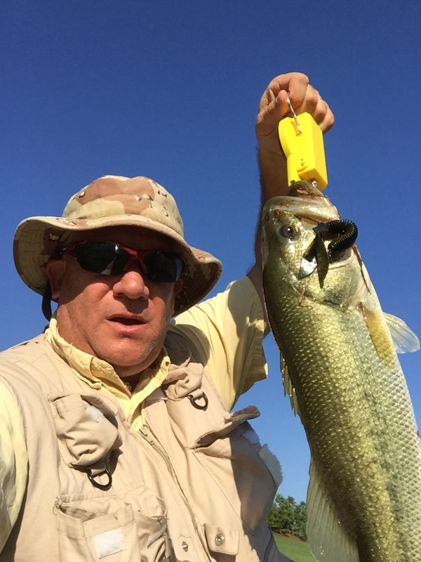 A photo of Roger Goodmon's catch