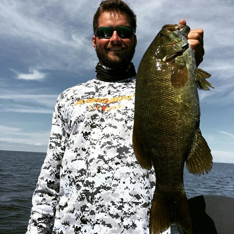 A photo of Jon Reznack's catch