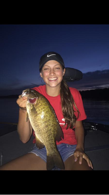 A photo of Nick Dahmen's catch