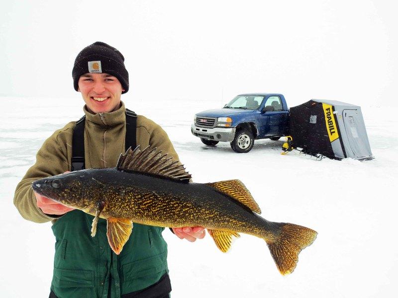 A photo of Tim Steinmetz's catch