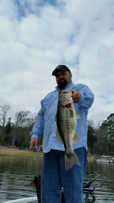 A photo of Chris DuBose's catch