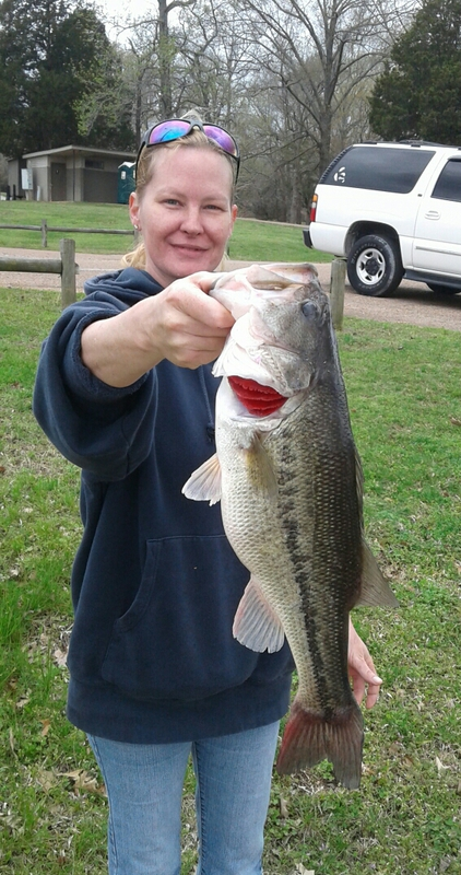 A photo of Charles Engleking's catch