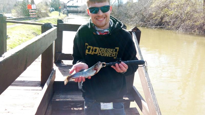 A photo of Brian Stiles's catch