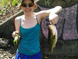 A photo of Tiffany Plueger's catch