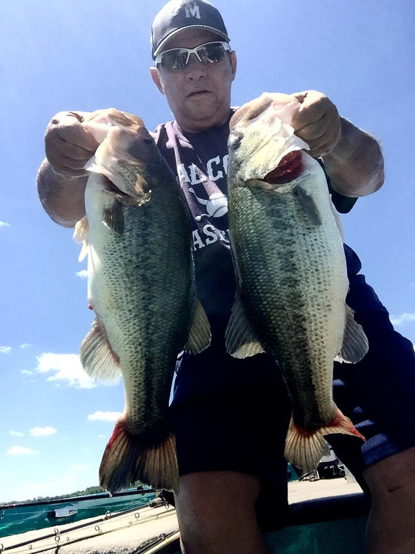 A photo of Doug Wampler's catch