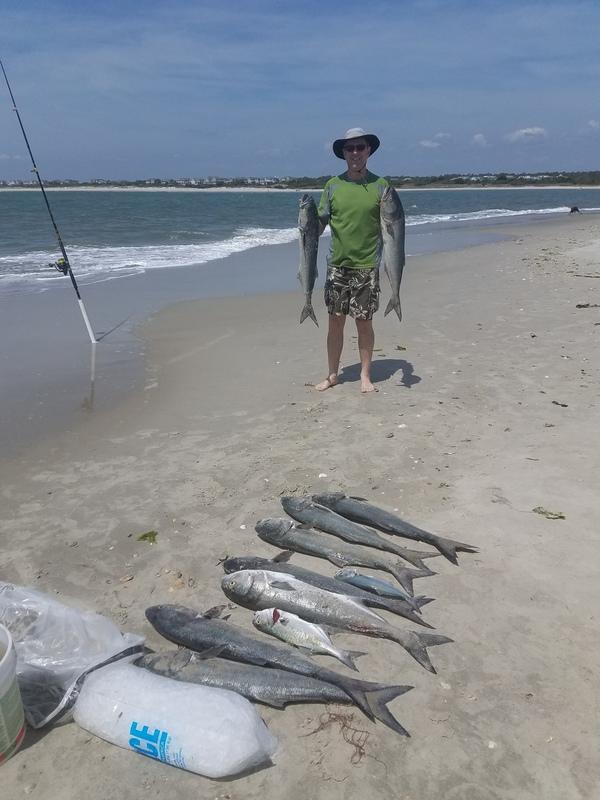 A photo of Dan Benner's catch
