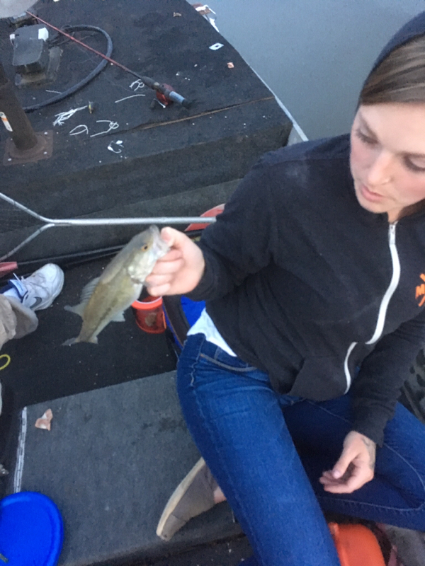 A photo of Brianna McCarley's catch