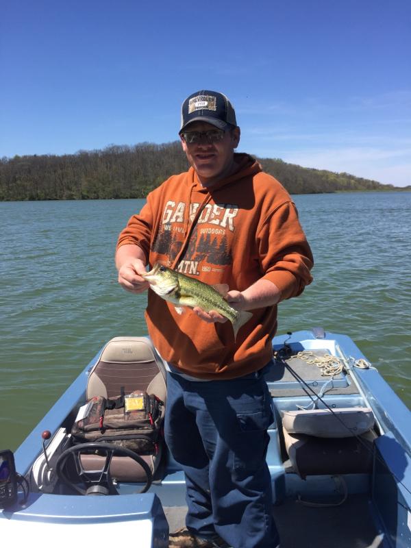 A photo of Dan Moore's catch