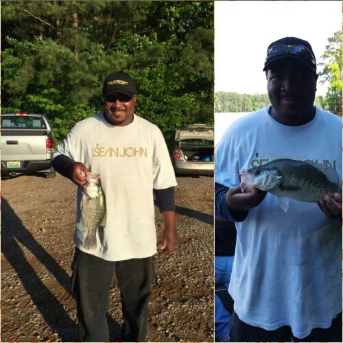A photo of Alvin Randolph's catch