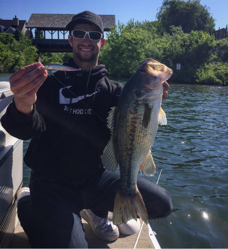 A photo of Louie Dazzo's catch