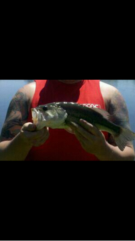 A photo of Justin Stone's catch