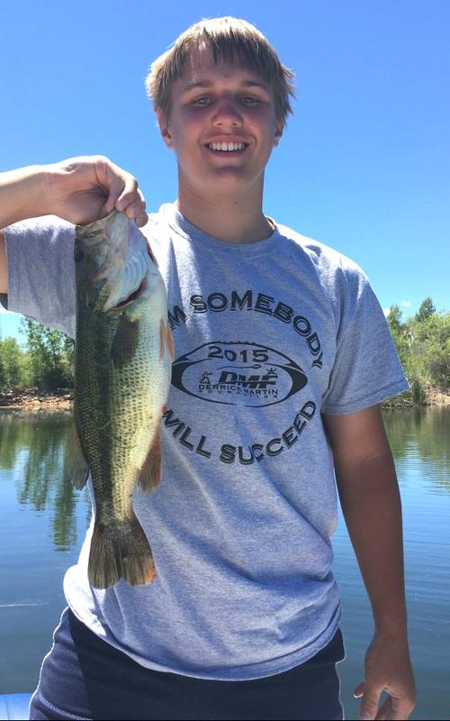 A photo of Tony Jones's catch