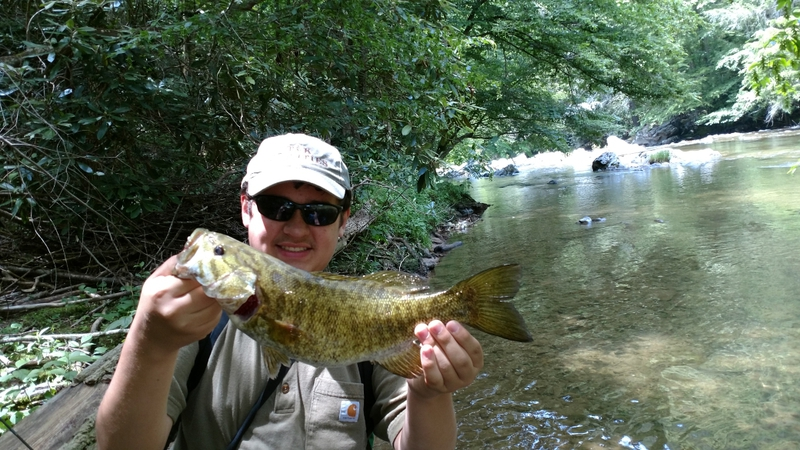 French Broad River (Stackhouse) NC Fishing Reports, Map