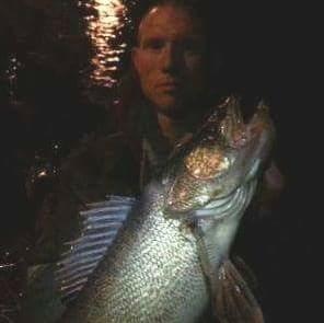 A photo of Dan glaser's catch