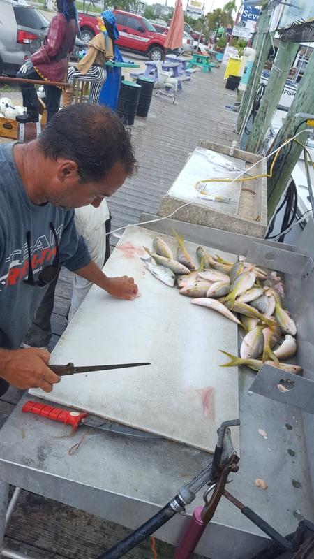 A photo of Dan Apgar's catch