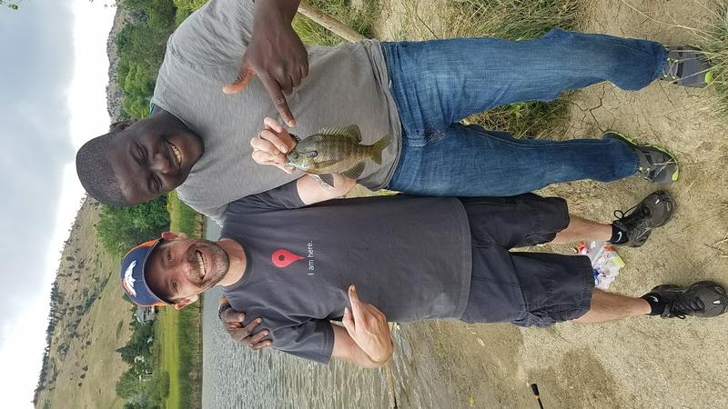 A photo of Jessie Bodah's catch