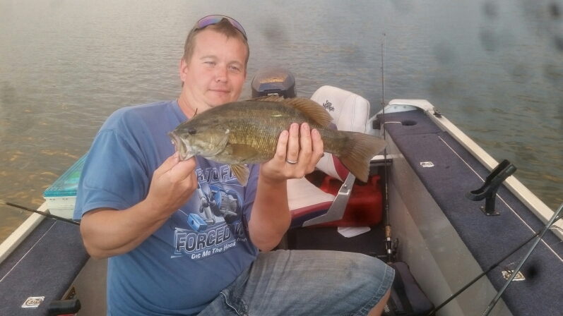 A photo of Dennis Pegues's catch