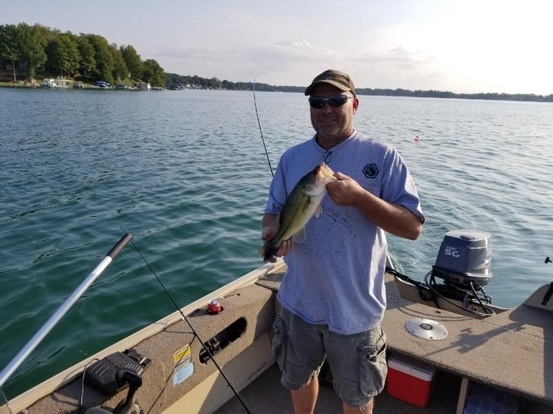 A photo of Greg Harper's catch