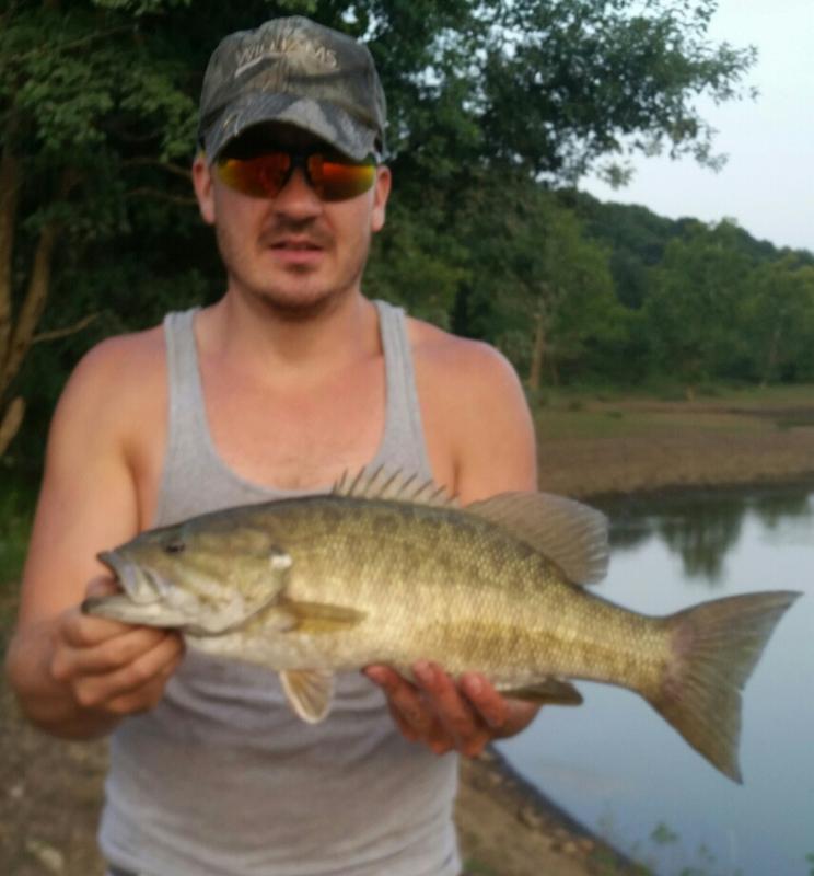 A photo of Bob kalbaugh's catch