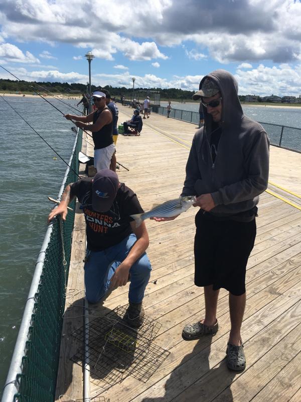 A photo of Patrick  Marison 's catch