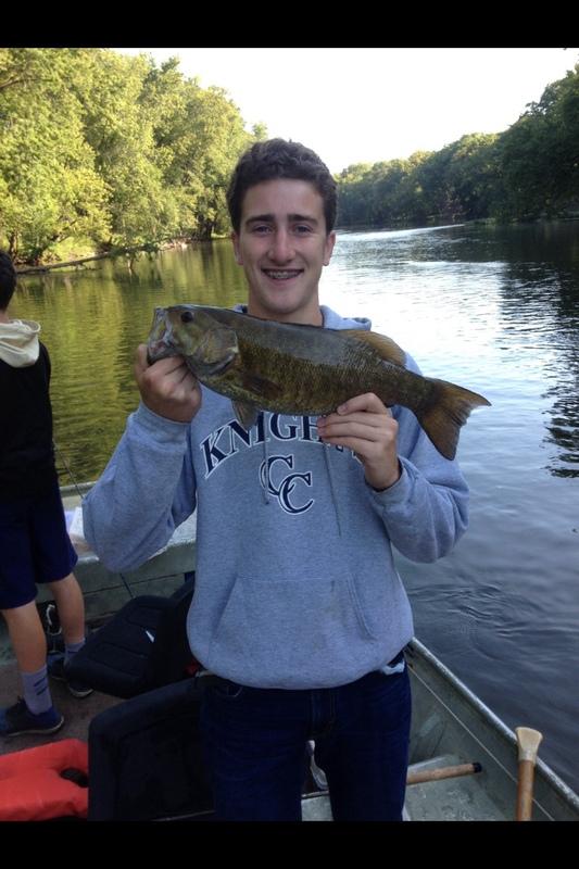 A photo of Jonah Switzer's catch
