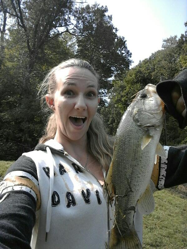 A photo of david hoff's catch