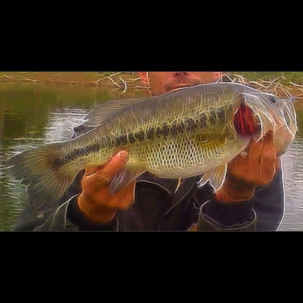 A photo of johnny borchardt's catch