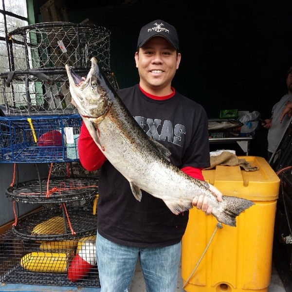 A photo of Brunscheon's catch