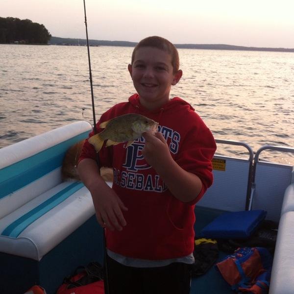 A photo of Brandon  Murray's catch