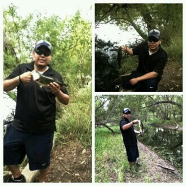 A photo of Joseph Salinas's catch