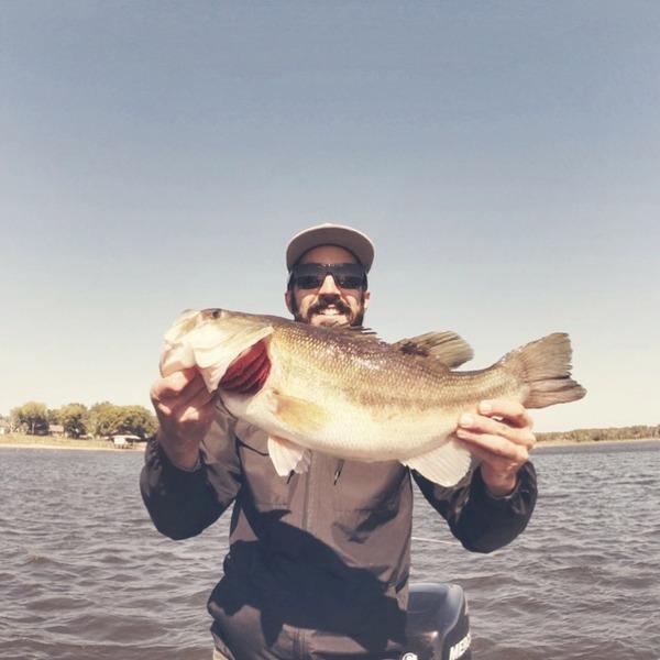 A photo of Jonathan Aljets's catch