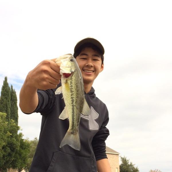 A photo of Matthew Watanabe's catch