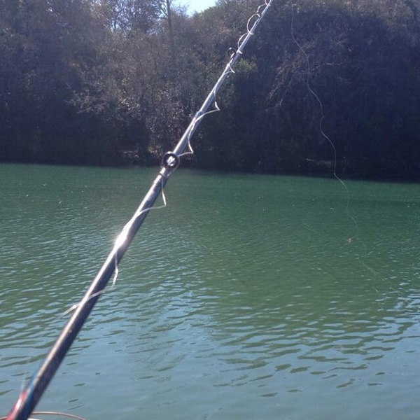 A photo of Jake's catch
